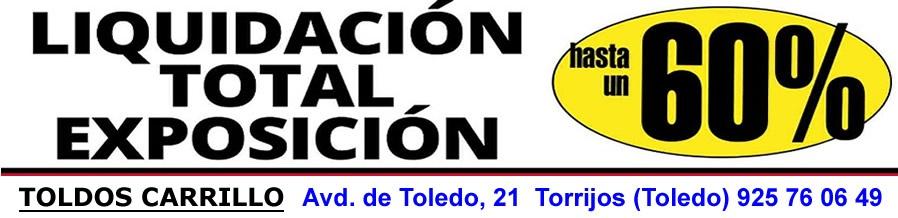 Toldos en Toledo -Toldos Carrillo- Toldos -Lonas -Pergolas Mueblkes de Jardin y terraza